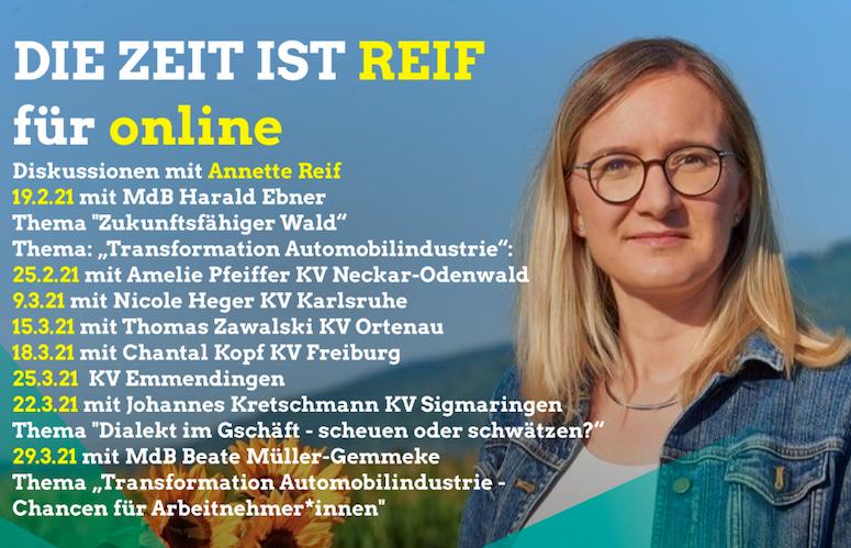 Die Zeit ist REIF für online