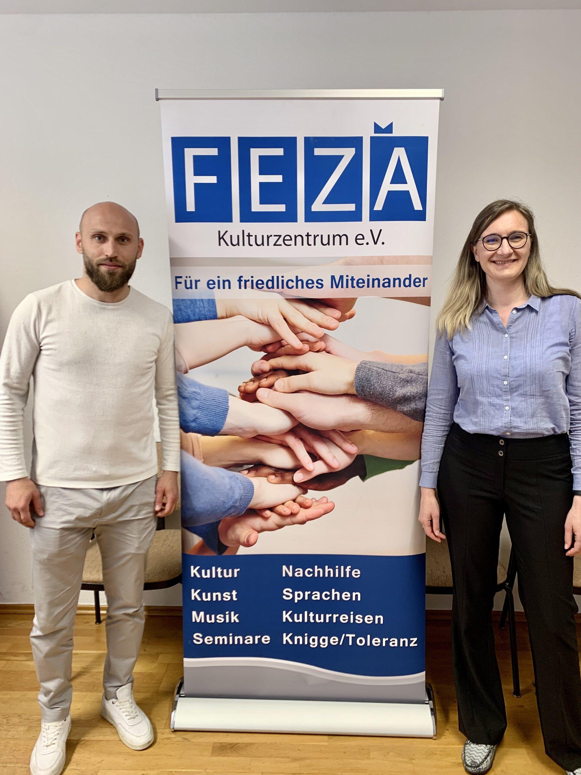 Pressemitteilung Besuch FEZA