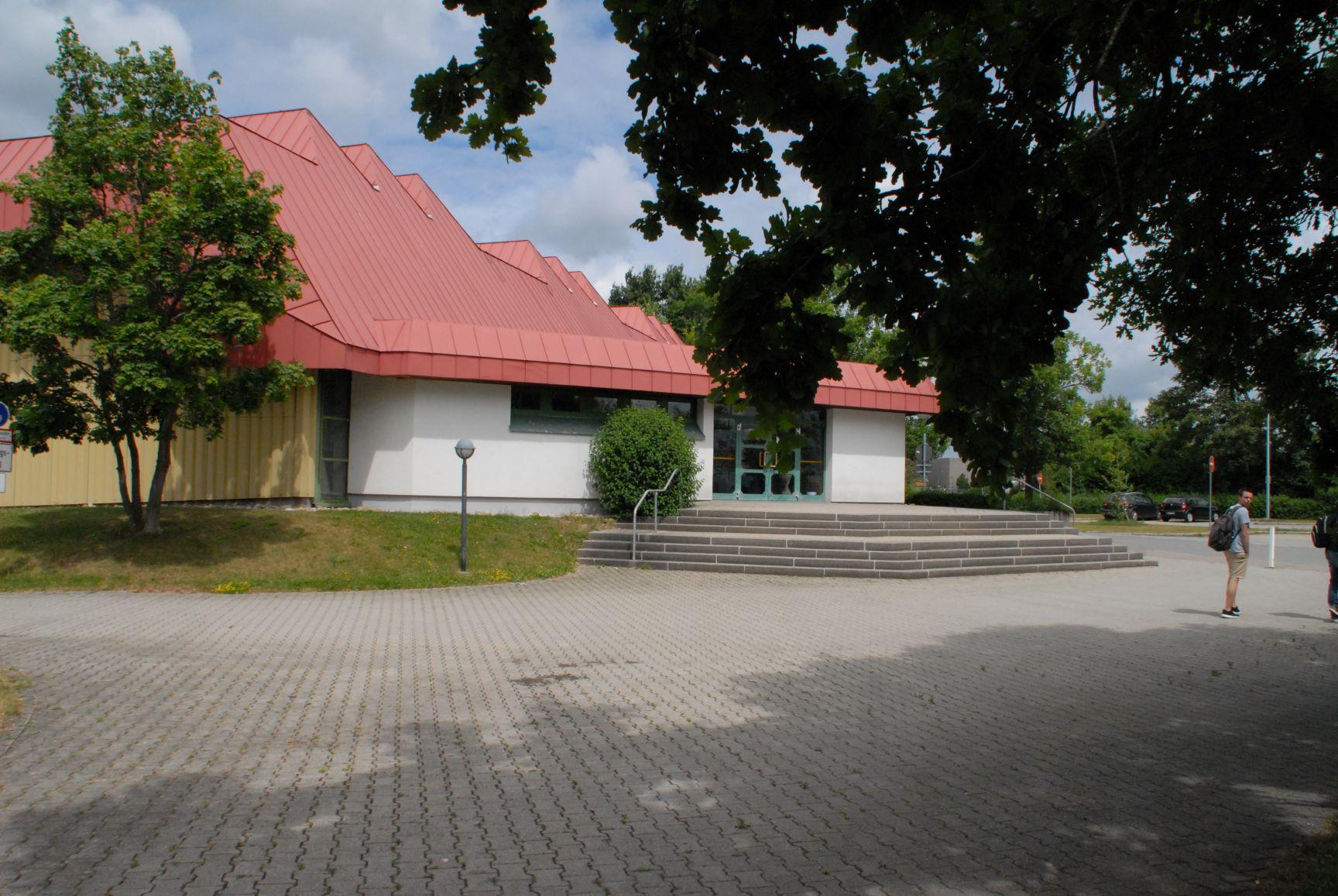 Pressemitteilung zur Sanierung der Kreissporthalle in Sulgen