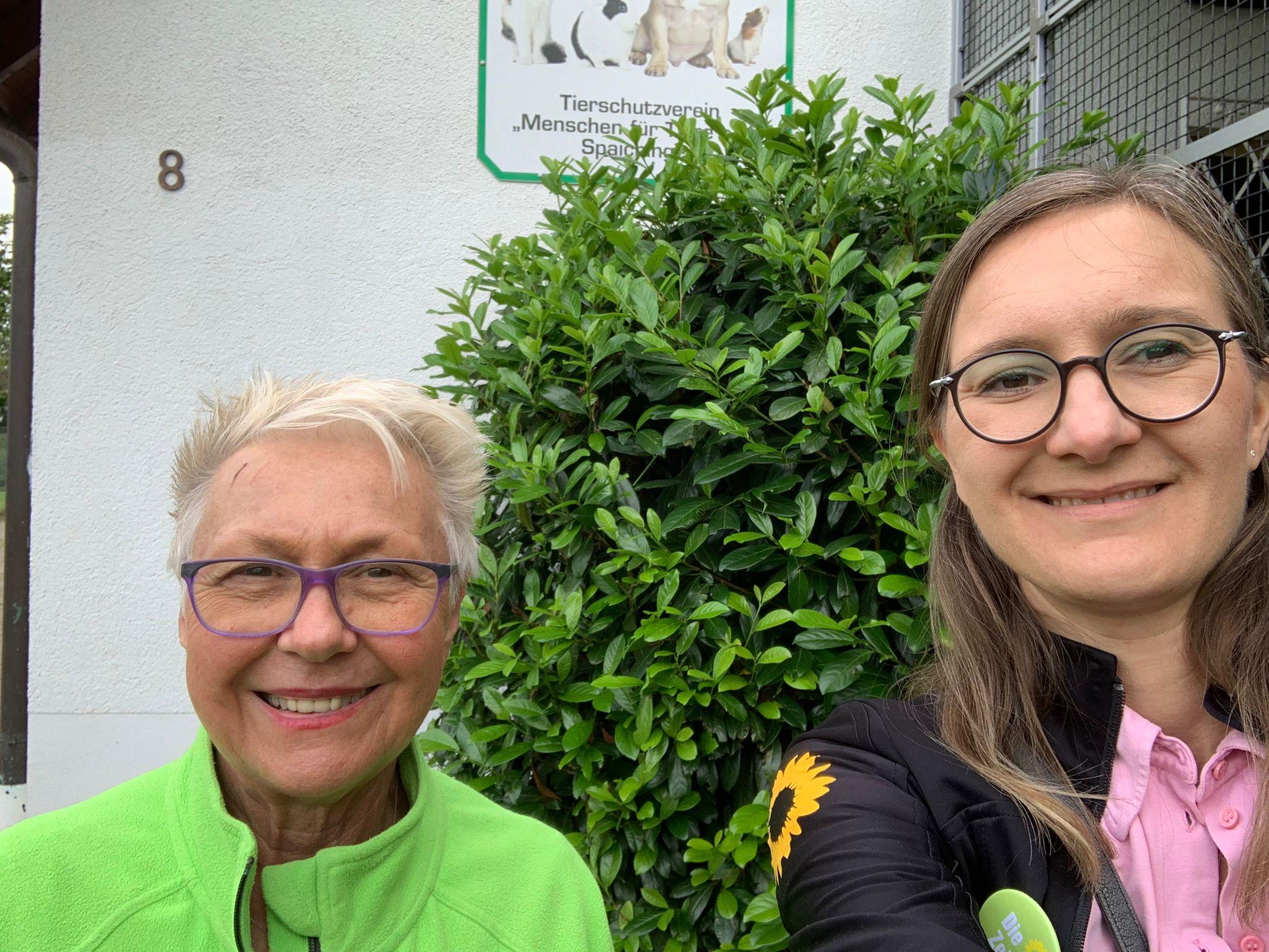 Verein Menschen für Tiere: Annette Reif verspricht Unterstützung