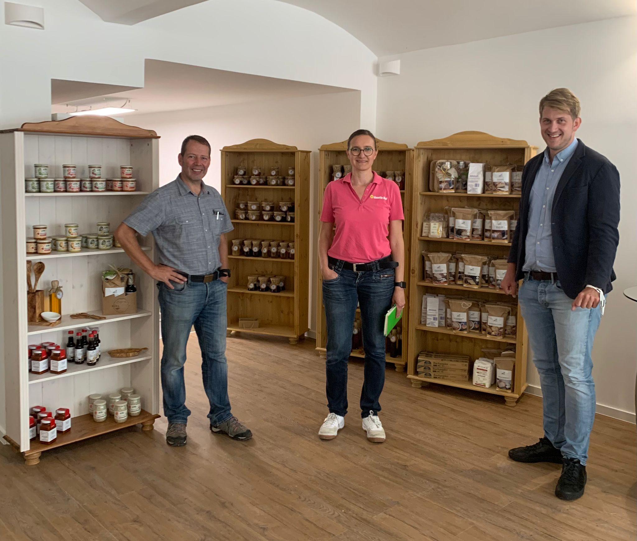 Grüner Besuch im Unverpackt-Laden in Mühlheim