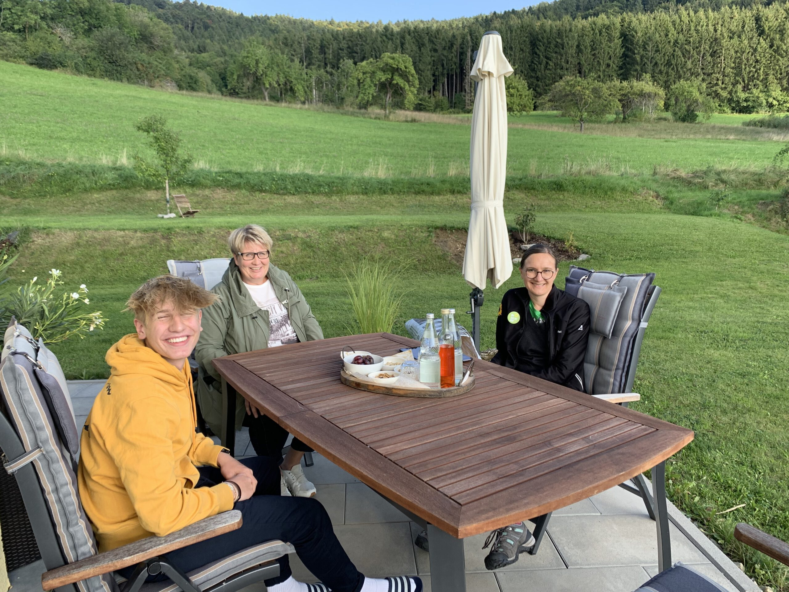 Besuch bei Tanja Köhler